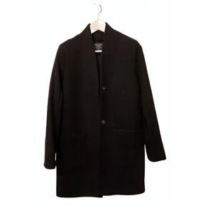 A&F black dad coat